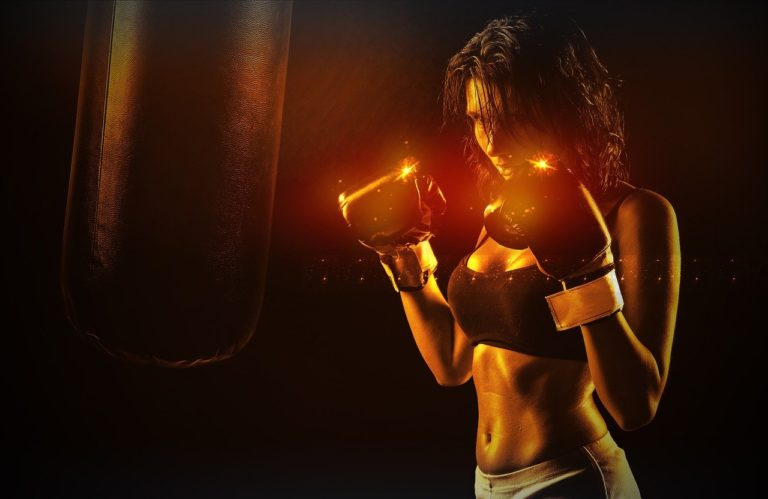 girl, boxer, sport